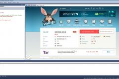 Main window XWeb Human Emulator