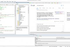 Main window XWeb Human Emulator Studio based on Chromium