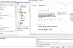 Main window XWeb Human Emulator Studio based on Chromium