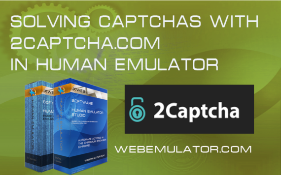 Solving captchas with 2captcha.com in Human Emulator