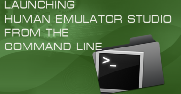Launching Human Emulator Studio from the command line.