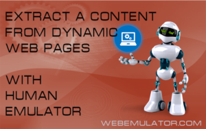 Parsing a site with dynamic content
