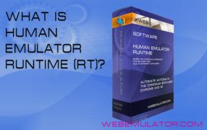 Human Emulator Runtime(RT)